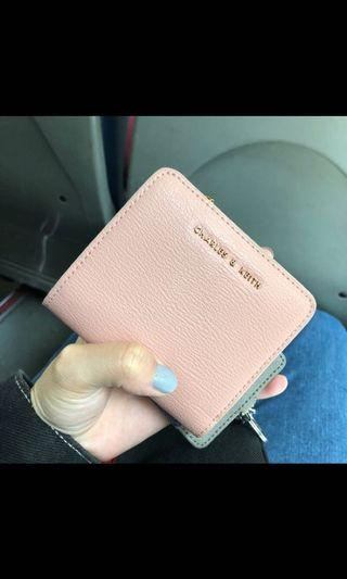 小ck 粉紅色錢包