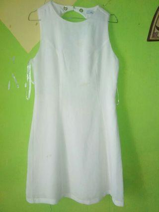 Naked Zebra white Dress