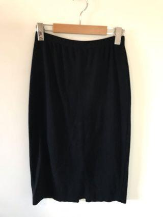 Forever21 Knit Pencil Skirt w/ Slit - Size Small - #SwapCA