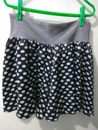 (友)可愛漂亮的~短裙褲(有內裡)(材質:滌綸)