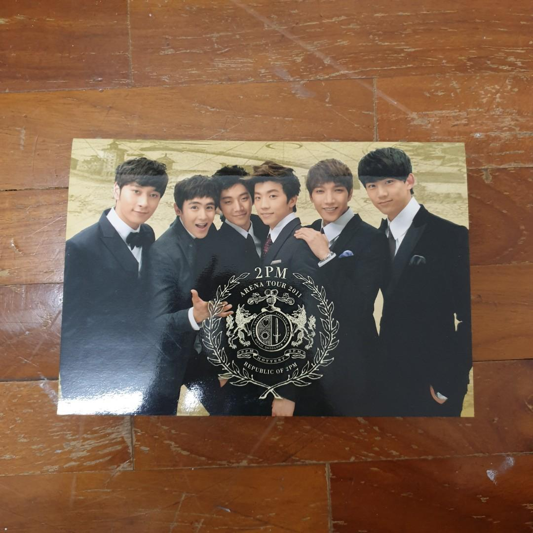 2PM 2011 Arena Tour Polaroid Set