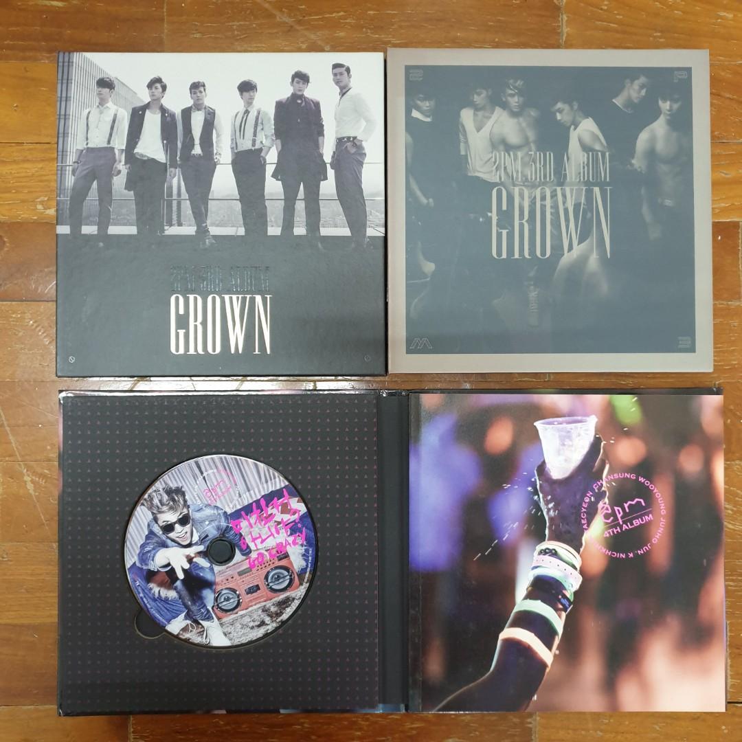 2PM Albums