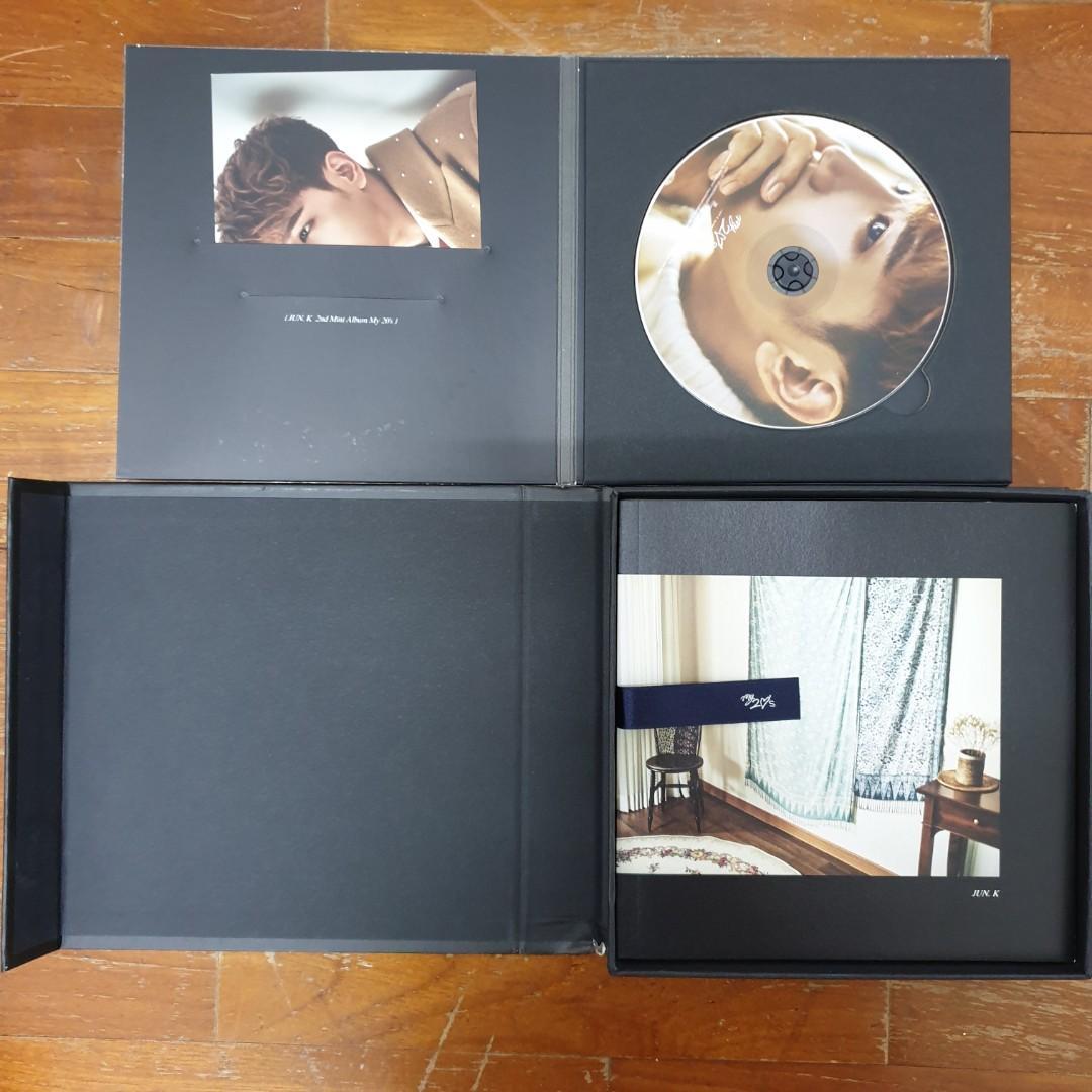 2PM Jun.K Solo Albums