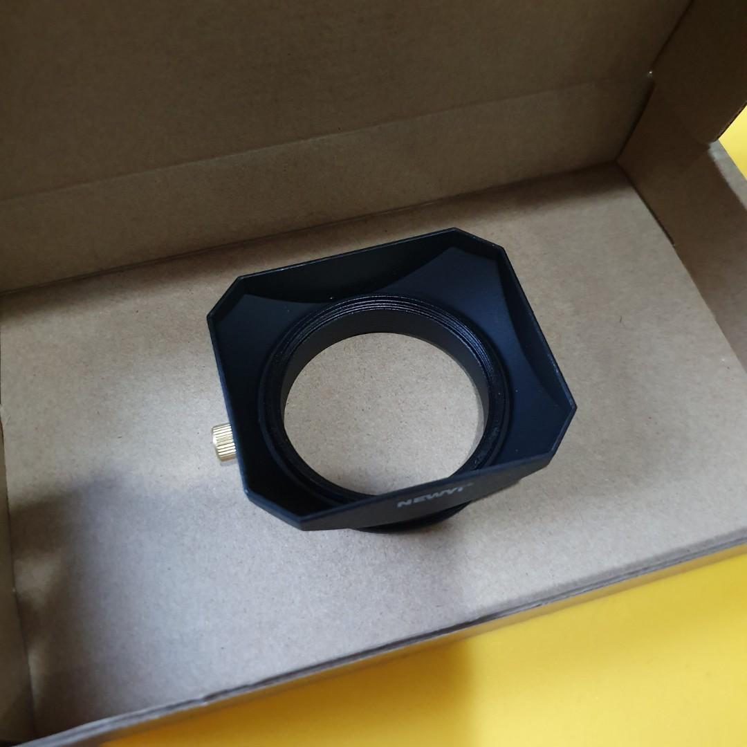 55mm Square Lens Hood