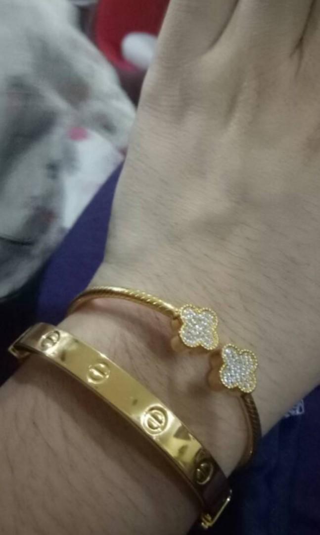 916 Gold Emas - Van Cleef design 5.3