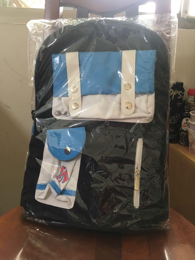 可愛❤️藍色💙大容量後背包
