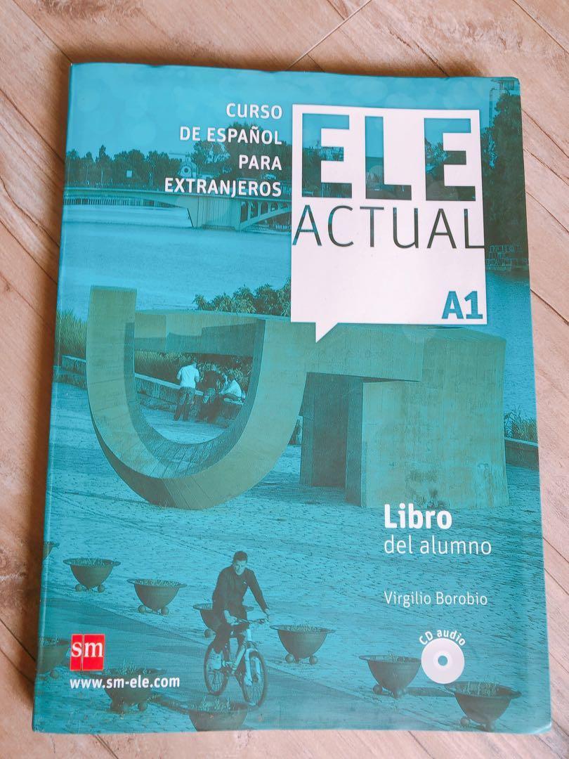 西班牙文A1 課本 ELE actual A1 libro del alumno + CD
