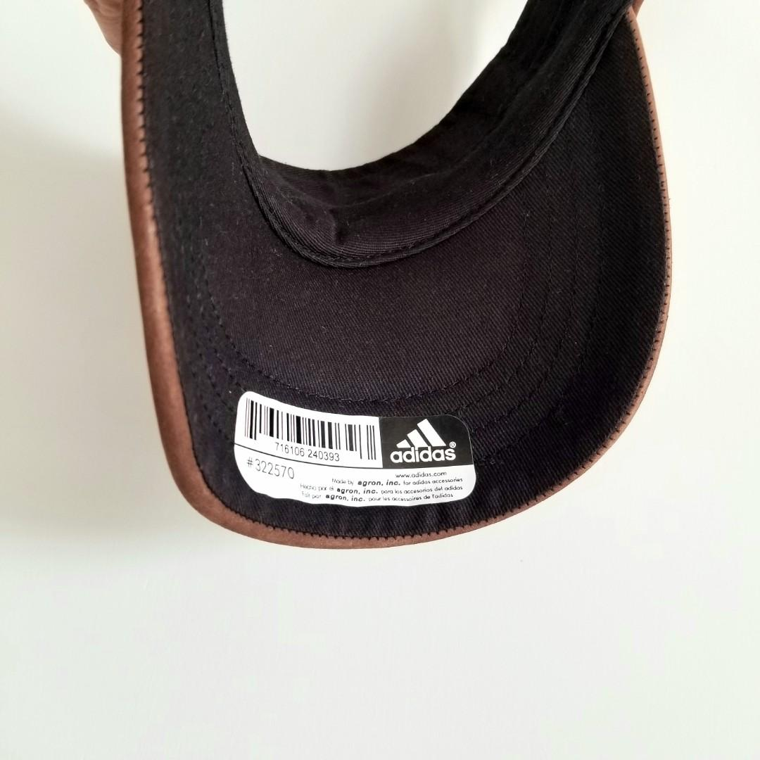Adidas Leather Visor Cap 寸爆真皮帽