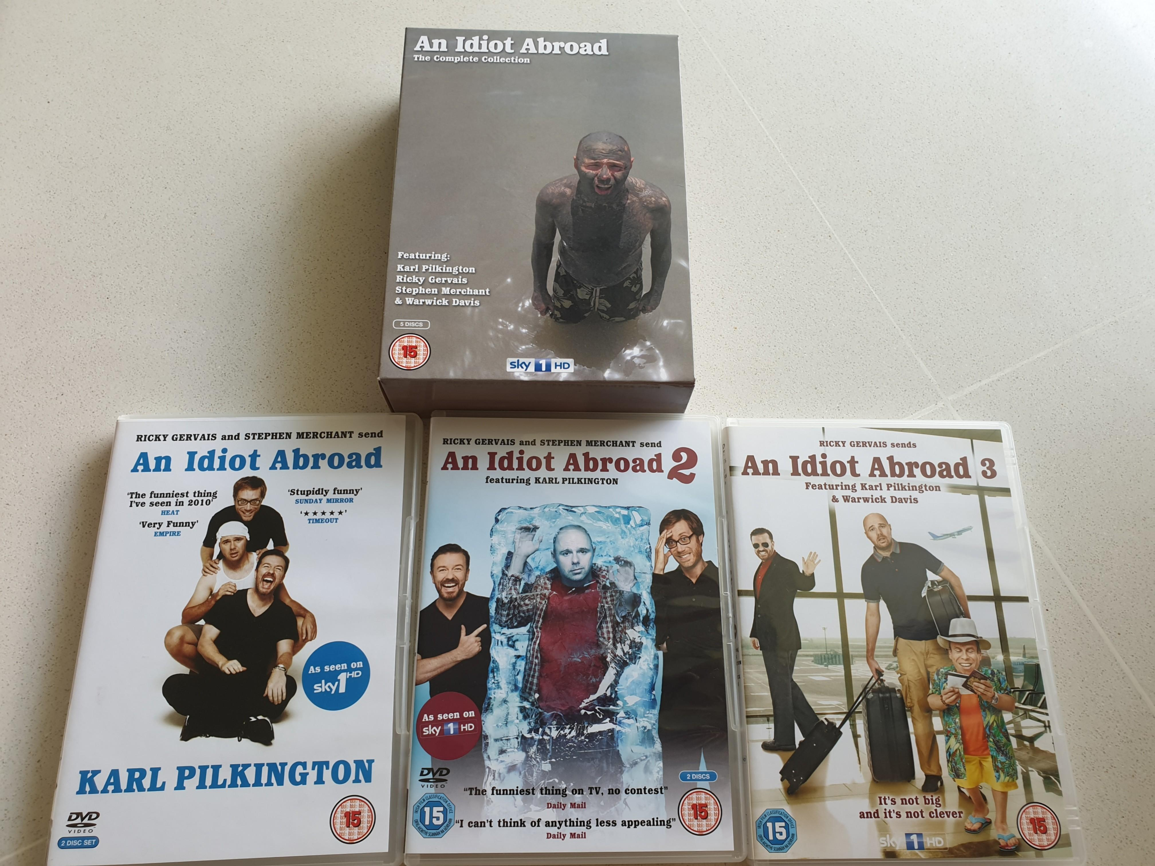 An Idiot Abroad The Complete Collection DVD