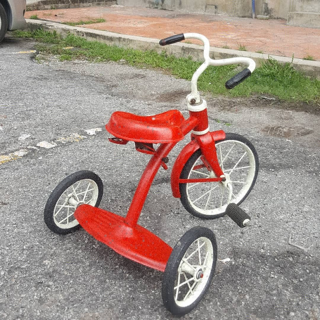 Antique Children Tricycle