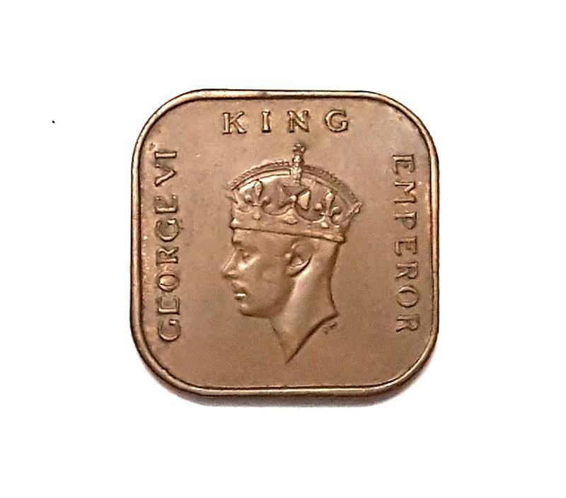Antique coin - 1 Cent 1939 Malaya coin
