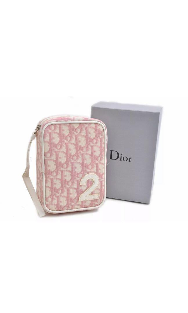 Authentic Dior trotter pouch