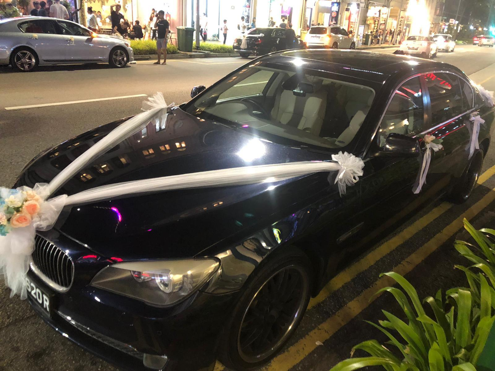 BEST Wedding Car Rental BMW 7Li with driver!! (SPECIAL PROMO OCT/NOV)