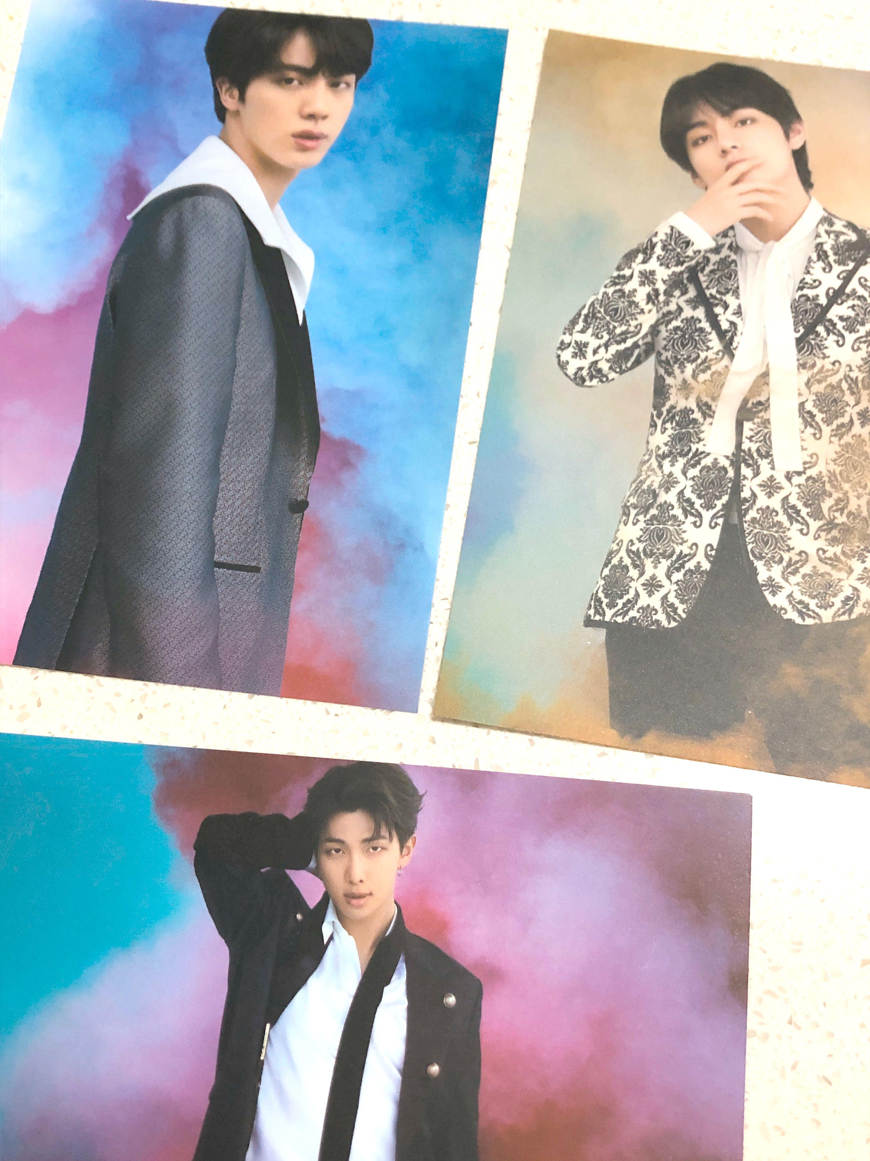 BTS VT cosmetics postcard