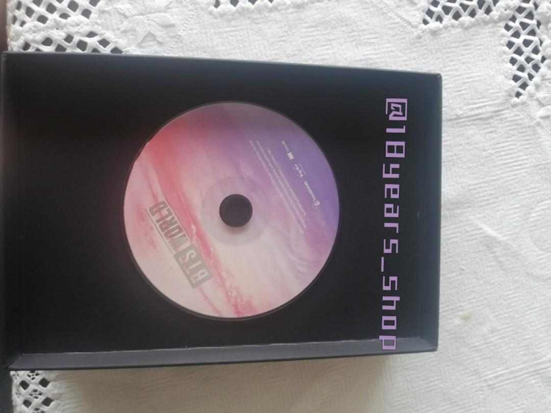 BTS WORLD DVD