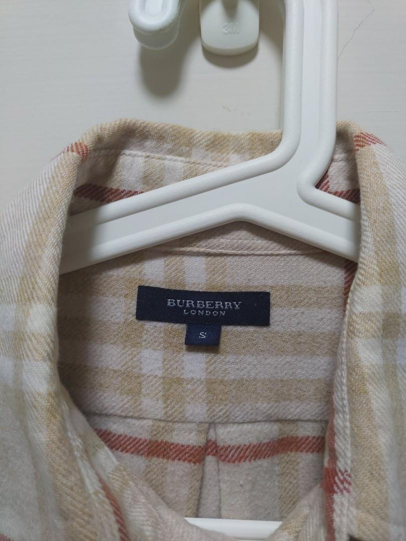 二手正品Burberry襯衫 英國製 古著 男女可穿