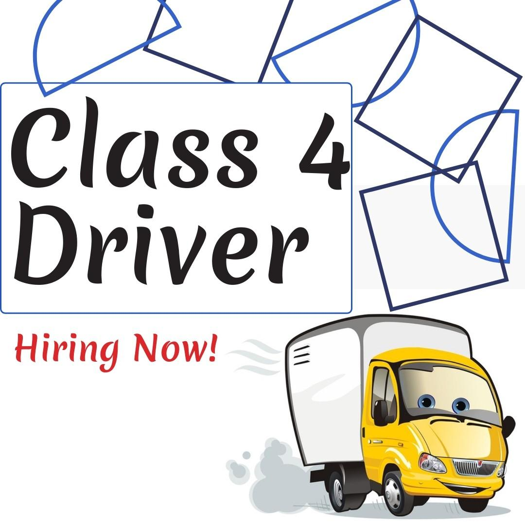 Calss 4 Driver @ East / West (Full-Time / Earn Up to $2800)