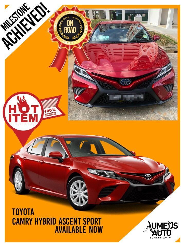 🔥Camry Hybrid Ascent Sport Super Cool😎