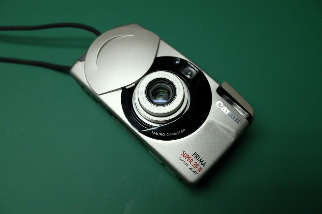 Canon Prima Super 28N Point & Shoot Film Camera