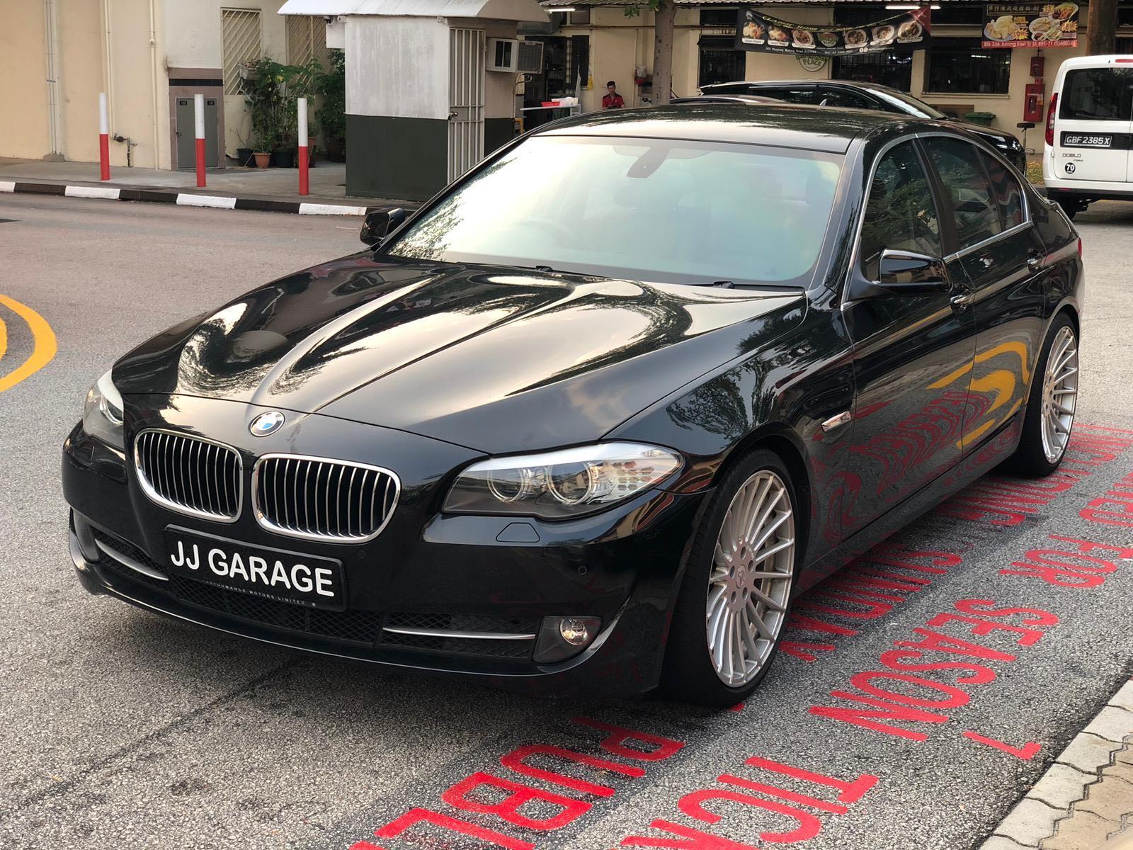 CAR RENTAL #BMW #F10