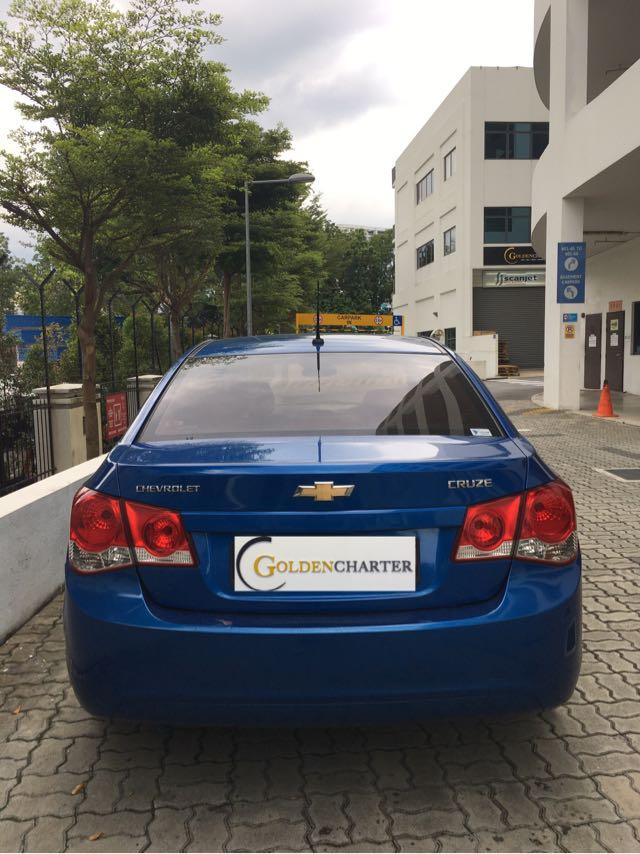 Chevrolet Cruze 1.6A! For personal and PHV! Call now
