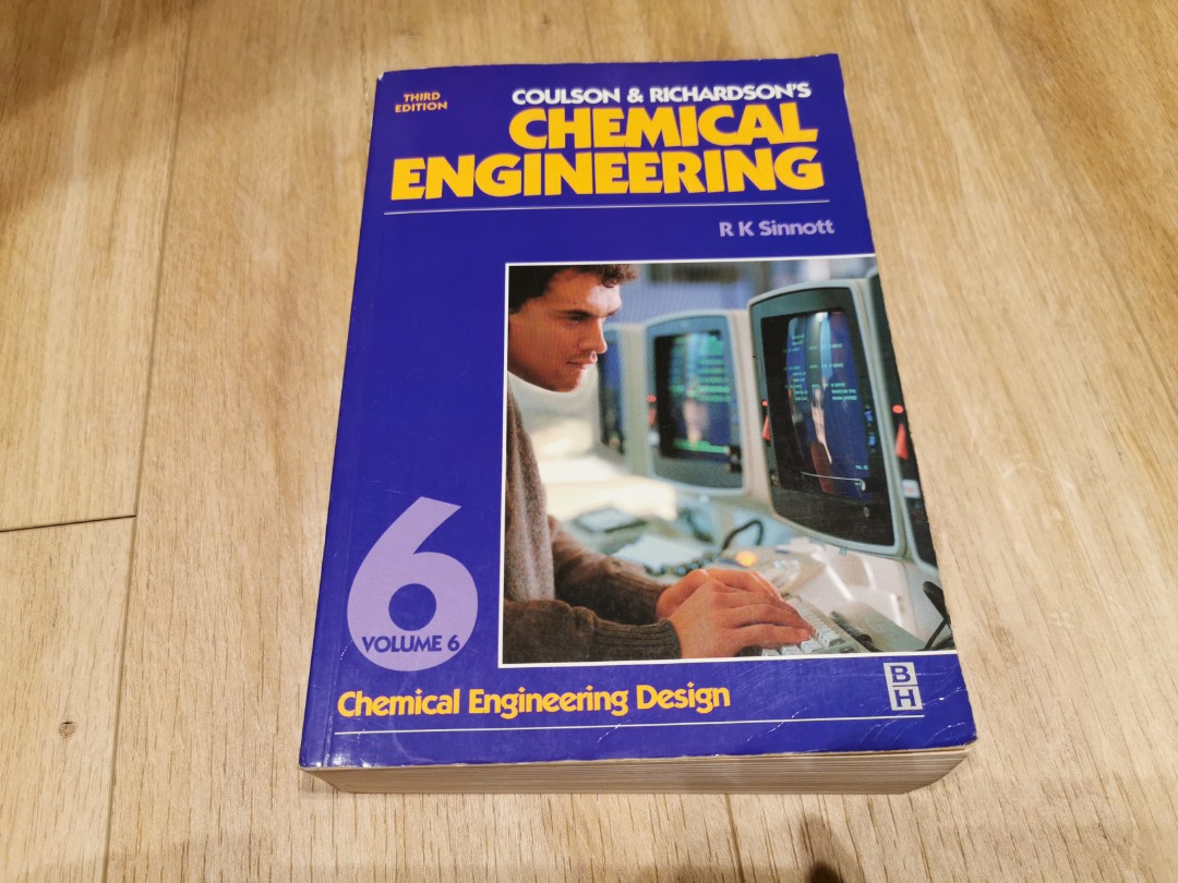 Coulsdon Richardson S Chemical Engineering Volume 6 Books Stationery Textbooks Tertiary On Carousell