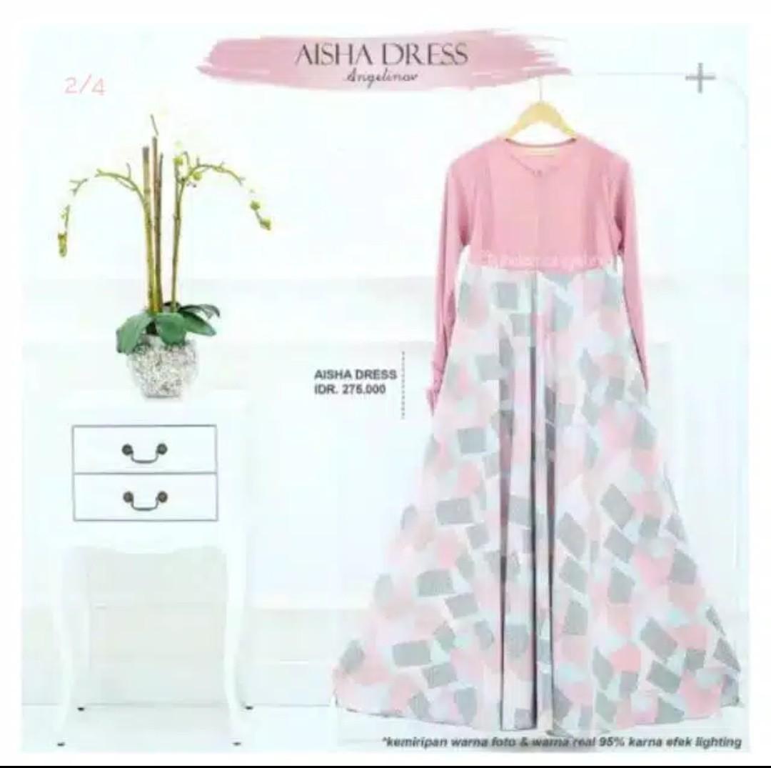 Dress Aisha Abstrak Angelina Atelier -AA