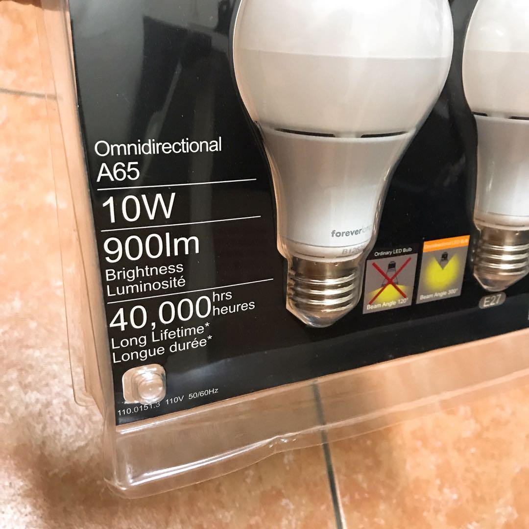 forever lamp 10w LED 全周 廣角 塑殼燈泡