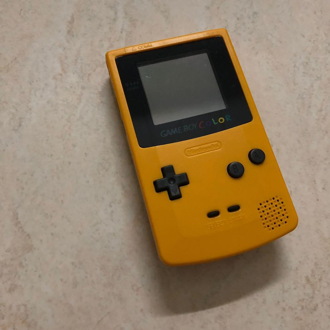 Gameboy color -Yellow