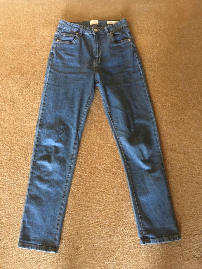 Highwaist jeans cotton on