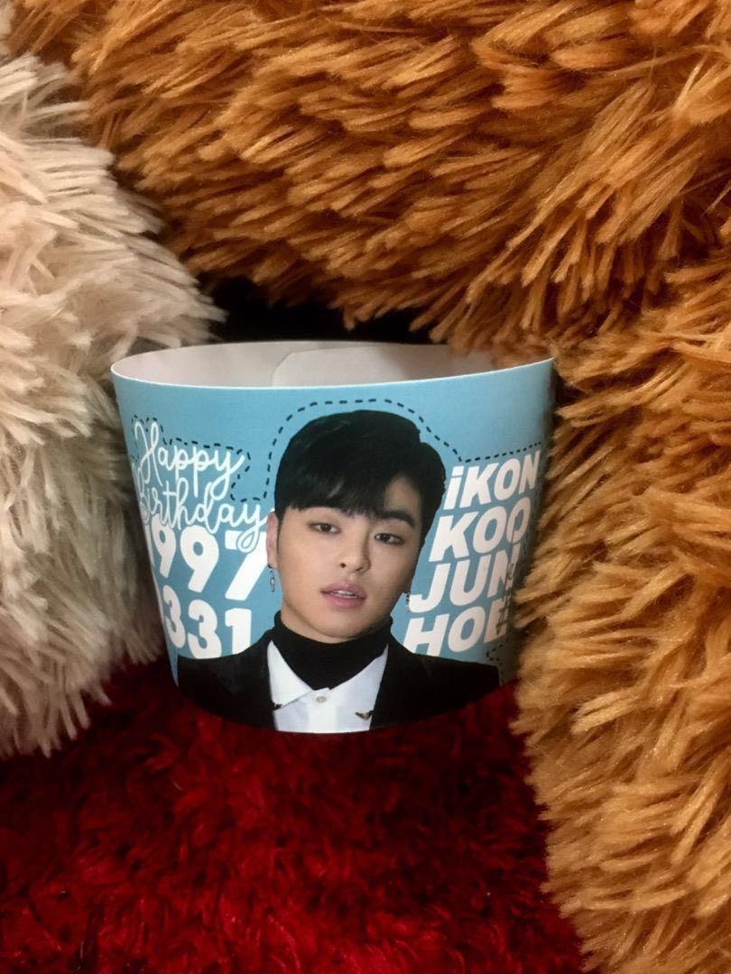 iKON Koo Junhoe cupsleeve