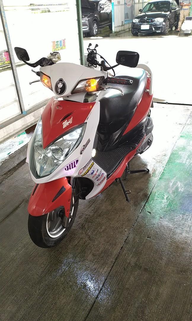 Kymco Racing150