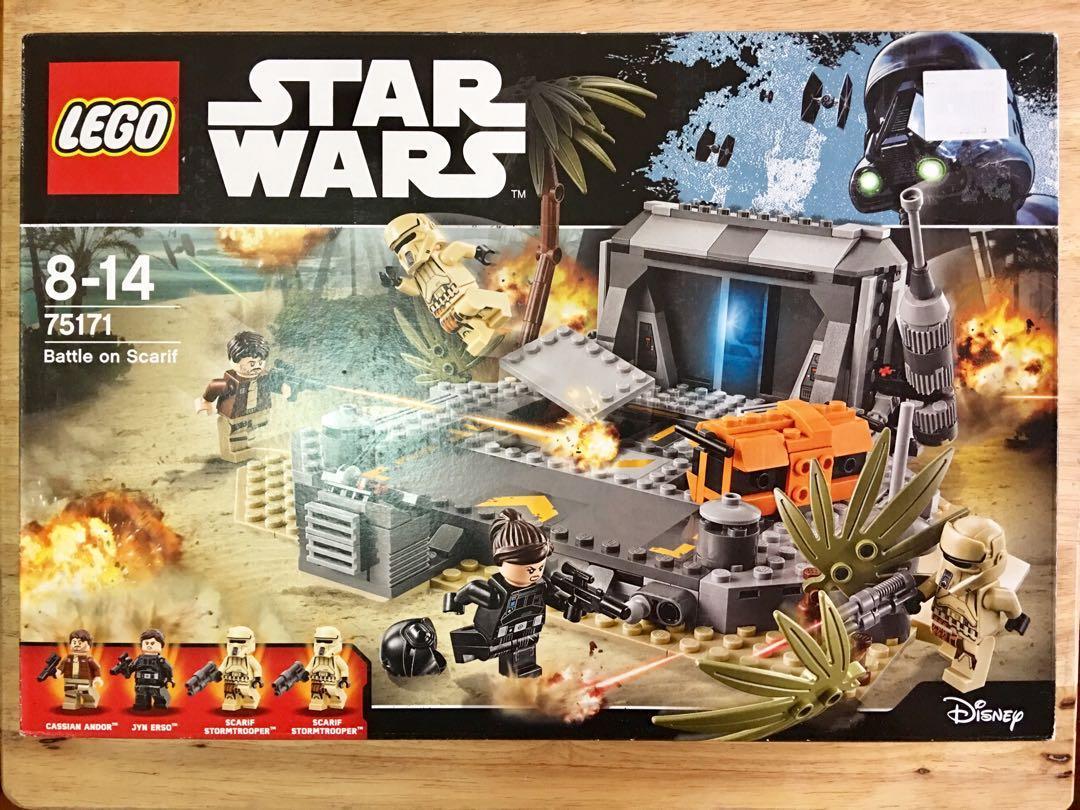 Lego  Star Wars The Scariff battle 75171