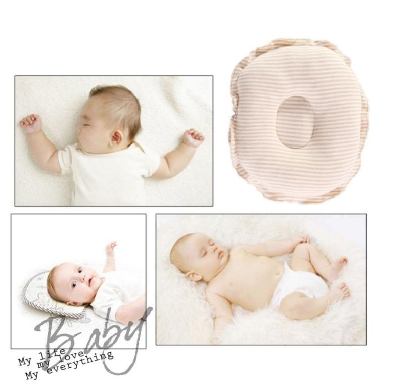 LittleFoot Natural Organic Cotton Newborn correct flat head chiro baby Cushion Sleeping Pillow LF024