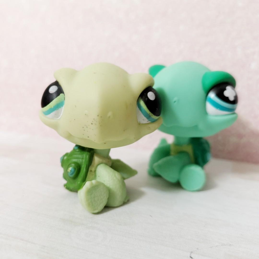 Littlest pet shop lps turtle figures