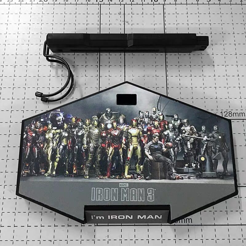 MARVEL AVENGERS IRON MAN 3 1/6 SCALE FIGURE BASE STATION
