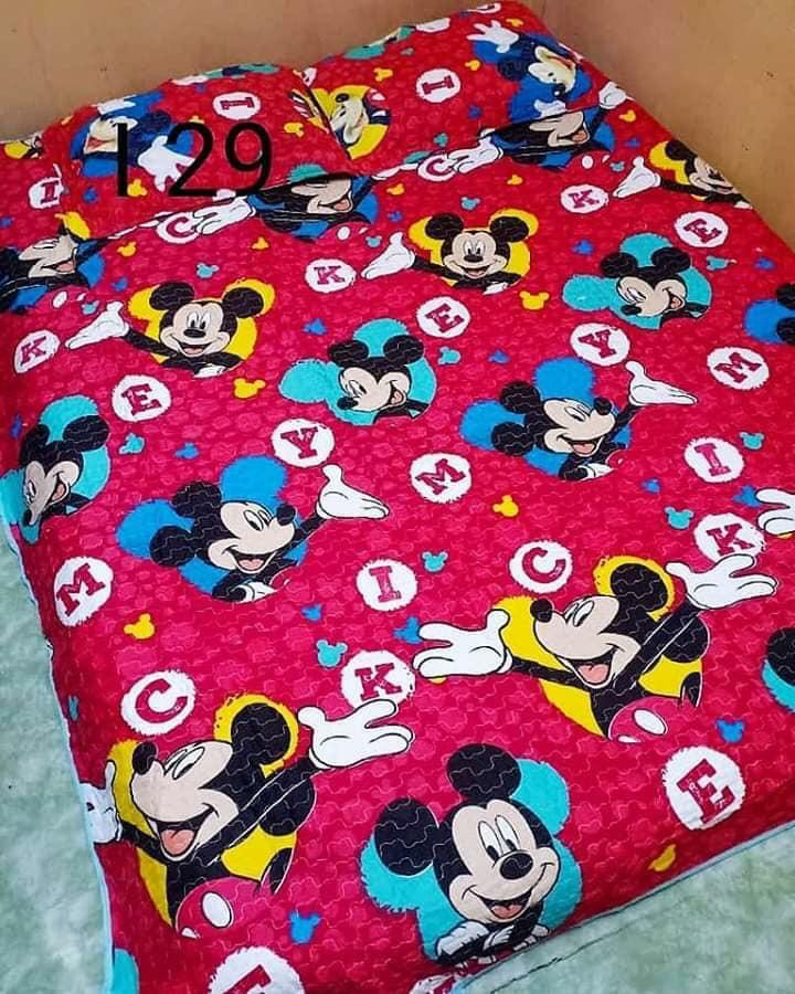 Mickey Mouse Patchwork Bedsheet