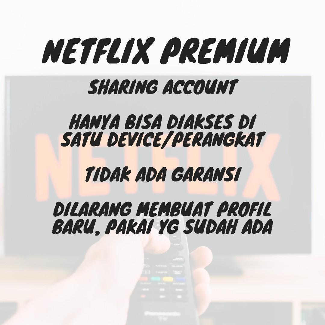 NETFLIX PREMIUM PLAN