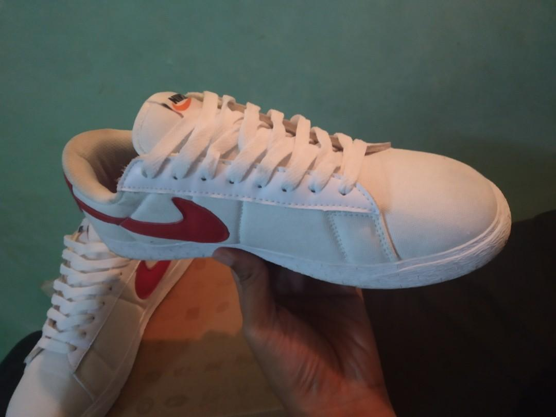 Nike Zoom Blazer Low SB 'White Team Red'