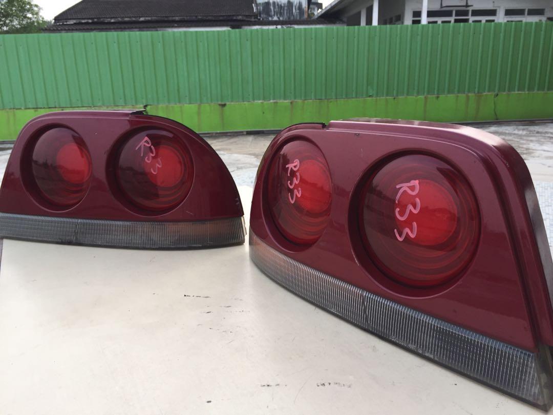 Nissan Skyline R33 back lamps