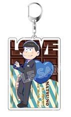 Osomatsu-san x Shibuya Parco ~ Love Matsu Acrylic Keyholder (Limited + Exclusive)