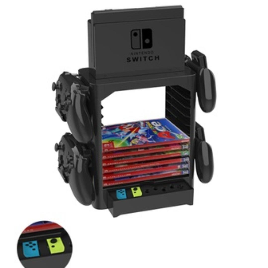(PO) Nintendo Switch Game Storage x Console x Controller Holder