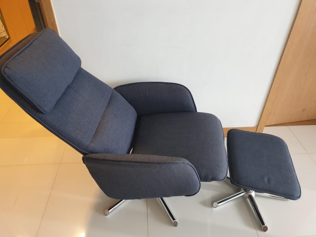 Reclining Chair with Stool