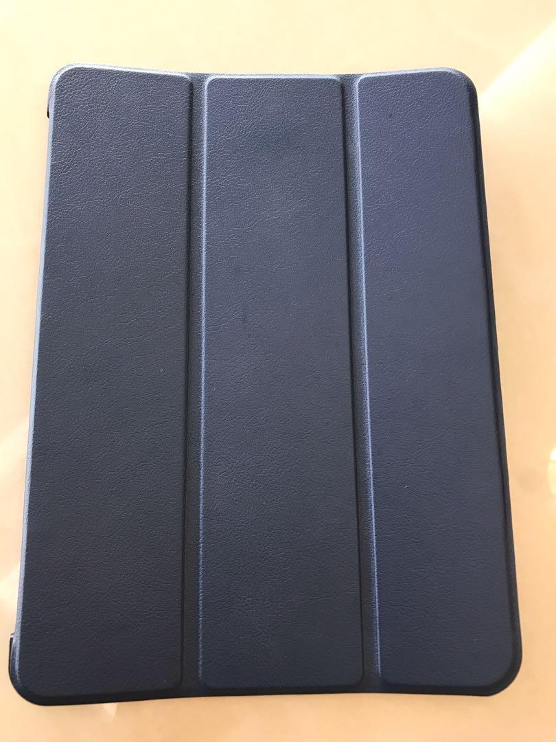 Samsung 三星Galaxy Tab S2 9.7 (T810,T815C) 卡斯特三折 平板皮套 - 深藍色