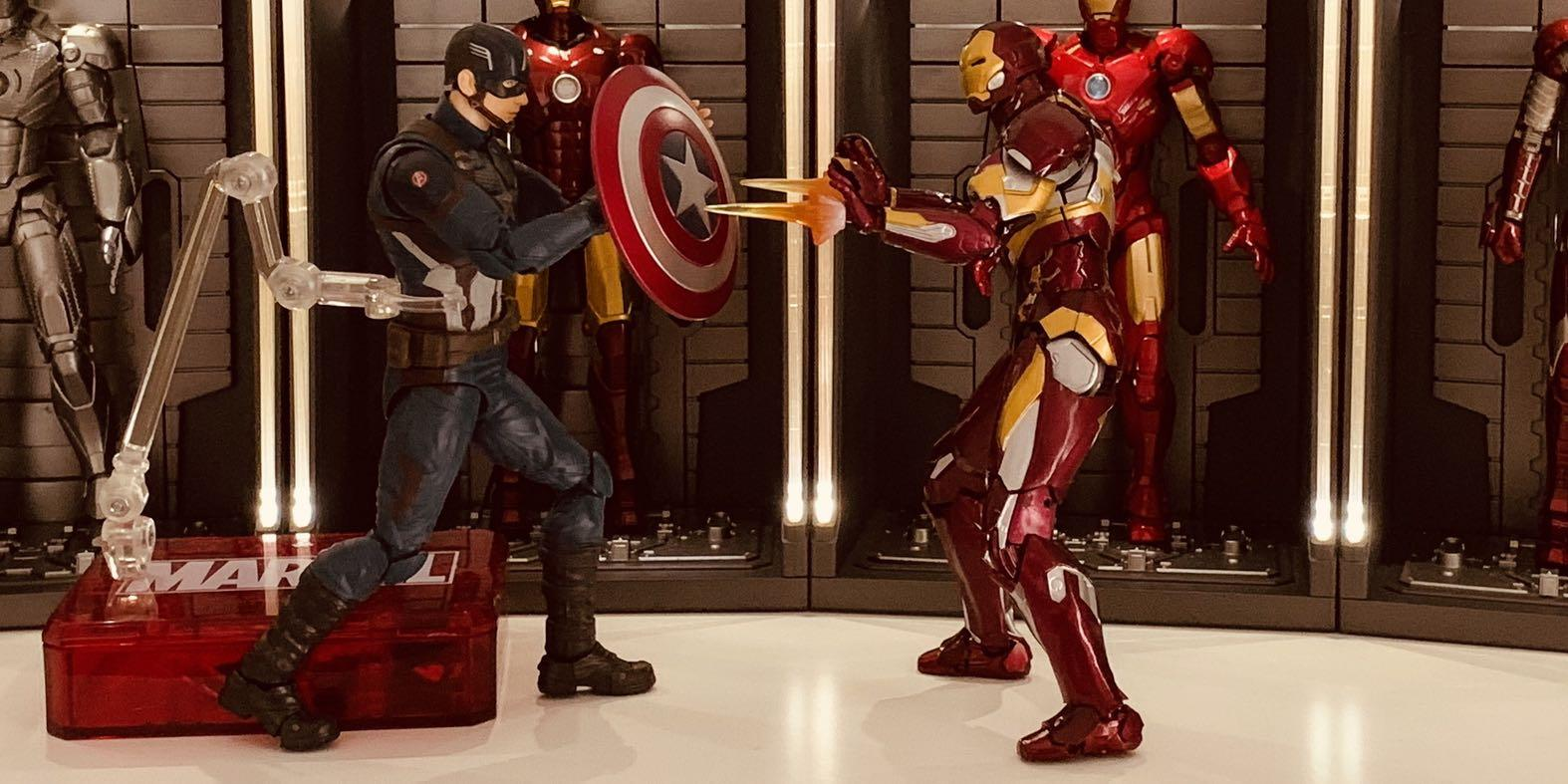 SHF SH Figuarts Iron Man Mark Mk 46 KO