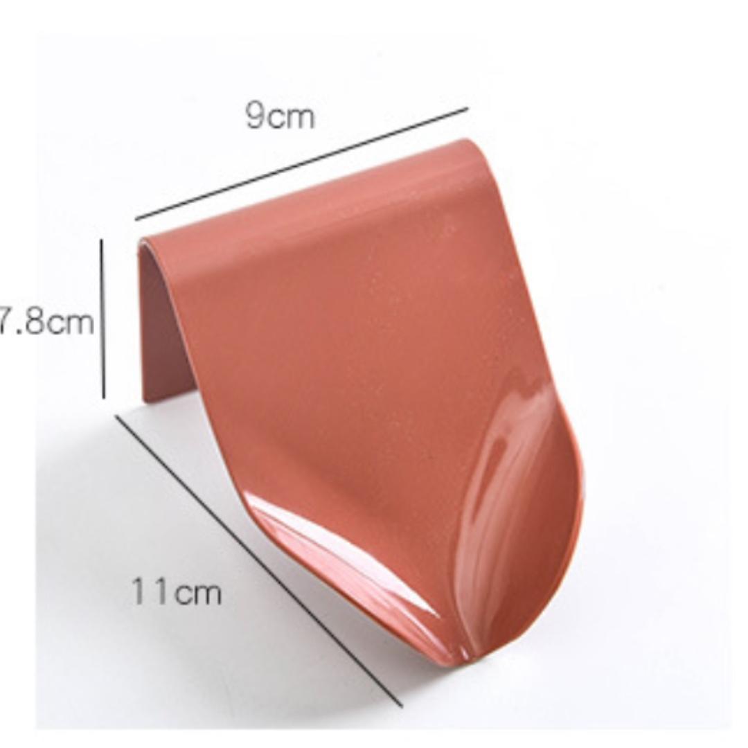 Soap Case Slanted Design Drain Water