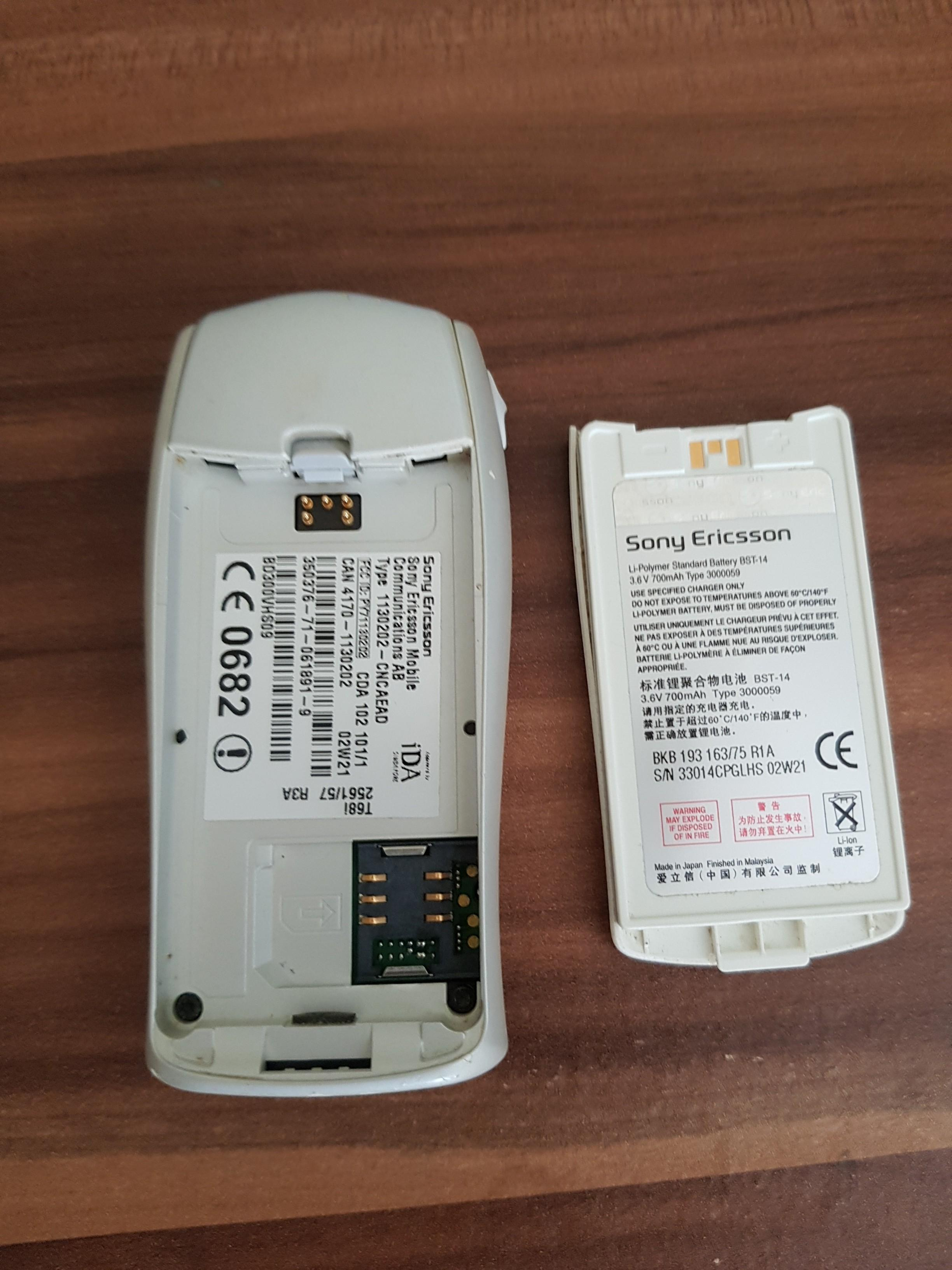 Sony Ericsson mobile without charger