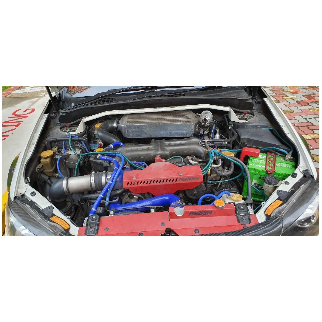 Subaru WRX 2.0 AWD CVT Auto