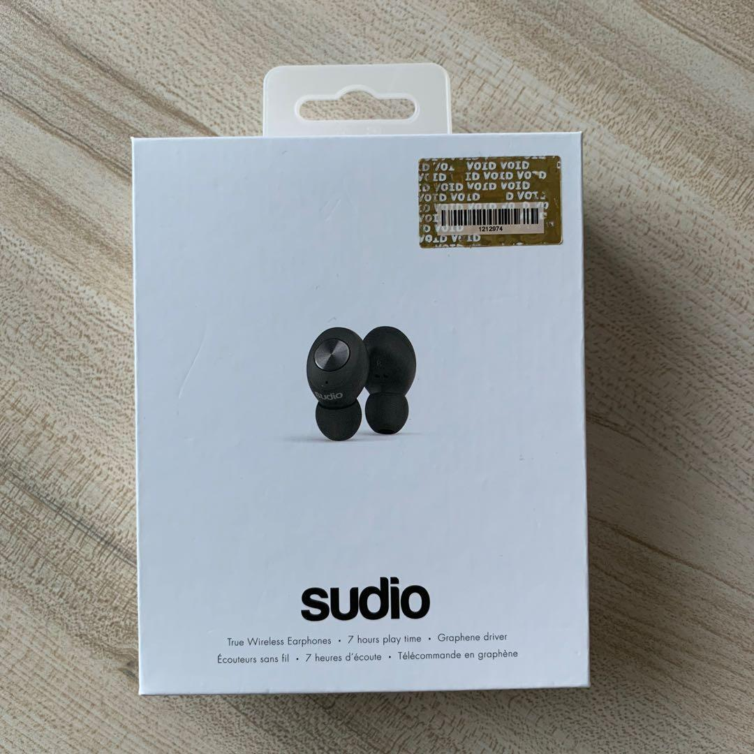 Sudio Tolv Bluetooth earphone 全新行貨