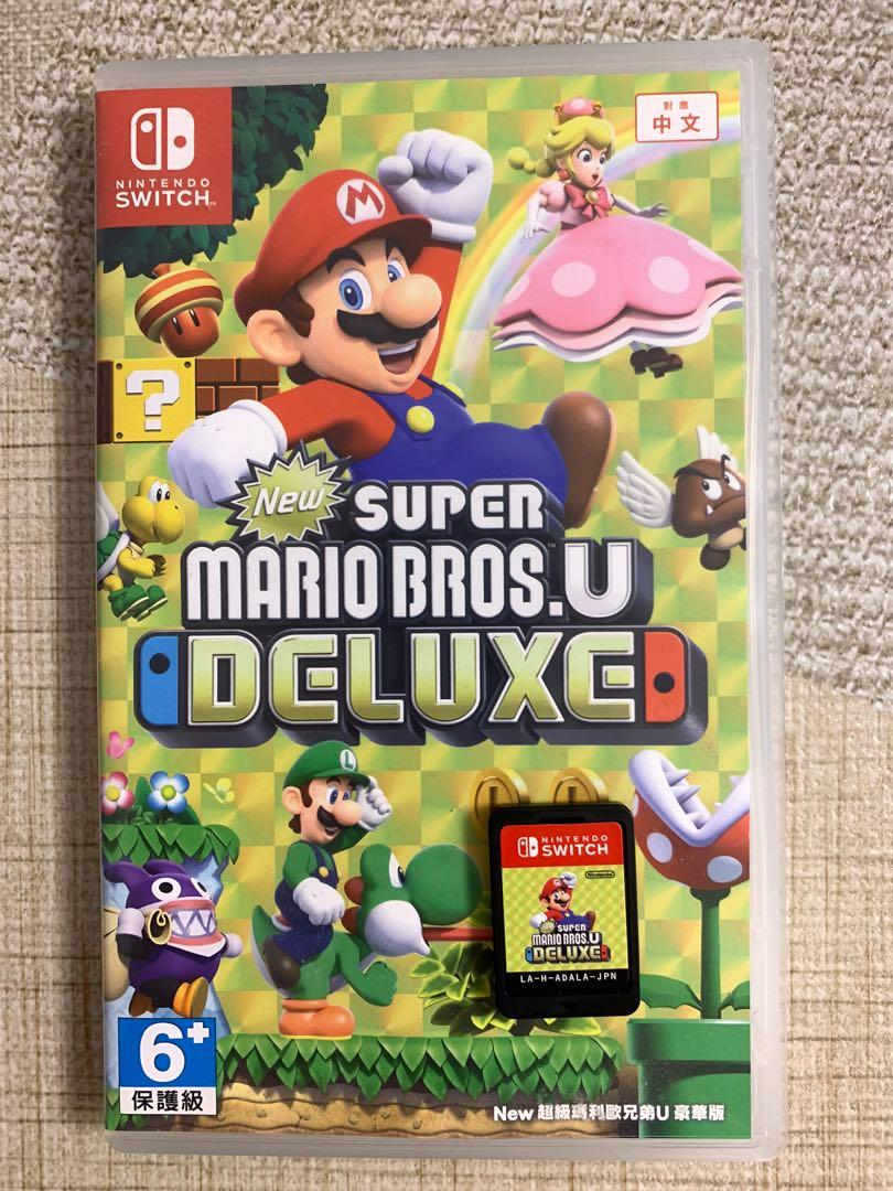 supermario BROS.U deluxe switch game
